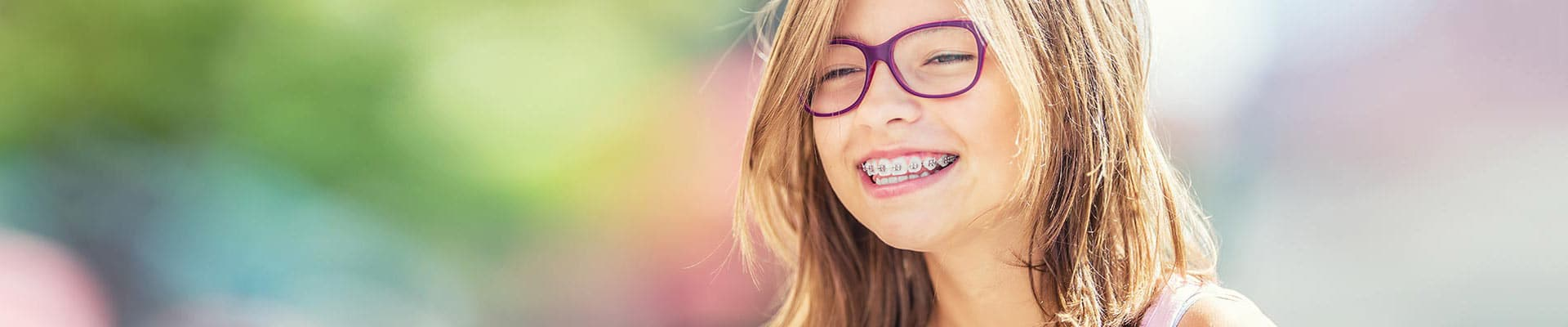 Girl with braces San Ramon Children's Dentistry and Orthodontics in San Ramon, CA